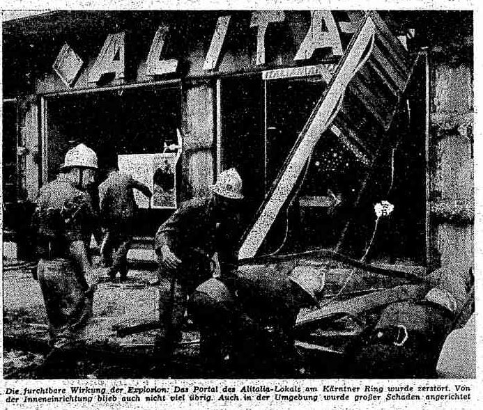 """""""Explosion bei der Opernkreuzung!"""" Der Alitalia-Anschlag vor 50Jahren"""