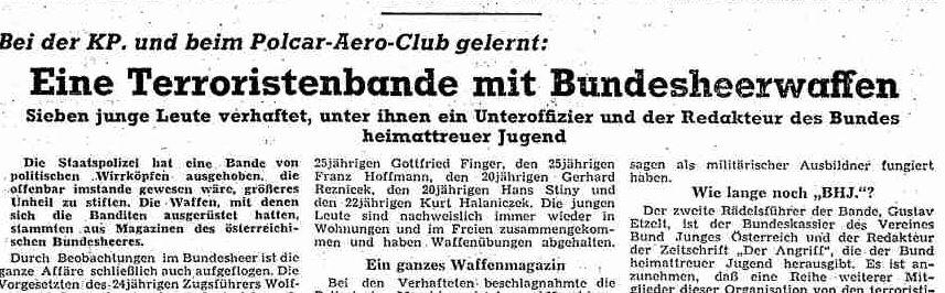 """""""Partisanenspiele"""" oder mehr? Die vergessene Geschichte des """"SSVKuenring"""""""