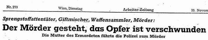 """Fritz Buchta und die """"SchwarzeSchnur"""""""