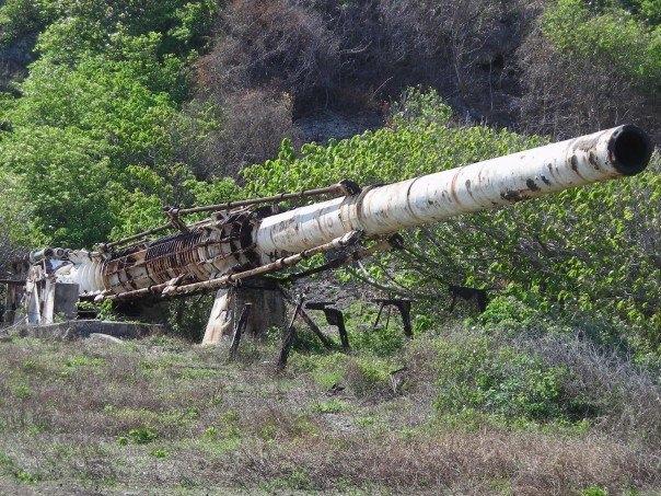 Abandoned-HARP-Gun