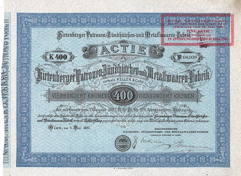 Hirtenberger_Patronen-,_Zündhütchen-_und_Metallwaaren-Fabrik_400_Kr_1897