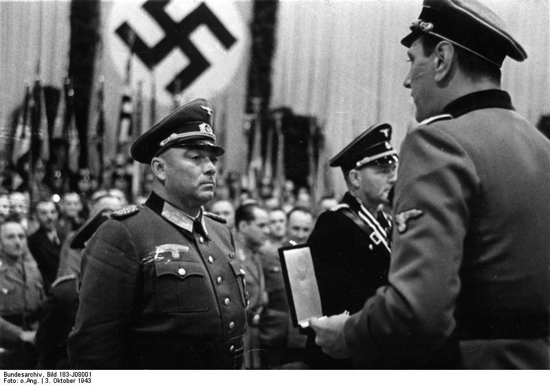 Helmut Körner und Otto Skorzeny